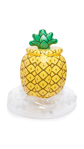 Gift Boutique Pineapple Floating Cooler - Yellow