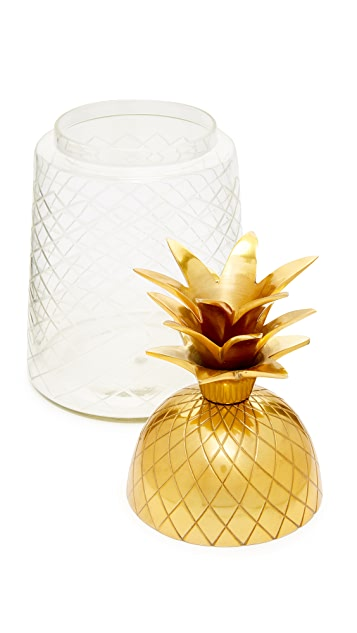Gift Boutique Pineapple Ice Bucket Jar