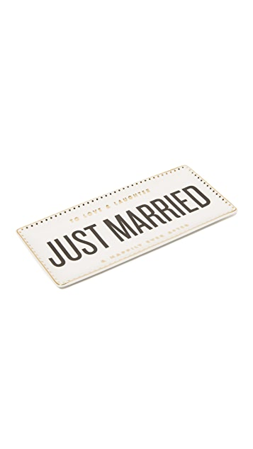 Gift Boutique Just Married Tray