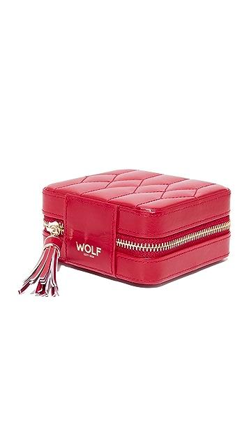 Gift Boutique WOLF Caroline Zip Travel Case
