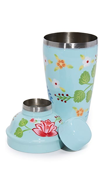 Gift Boutique Hand Painted Cocktail Shaker