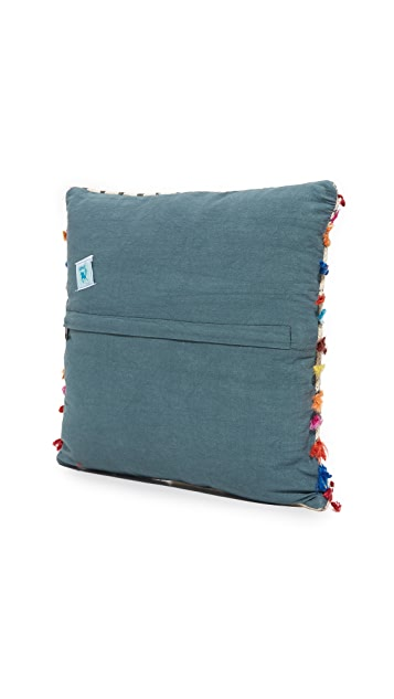 Gift Boutique Block Print Heritage Pillow