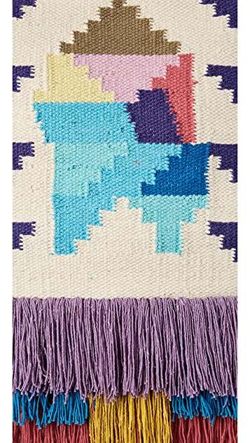 Gift Boutique Mosaic Tassel Wall Hanging