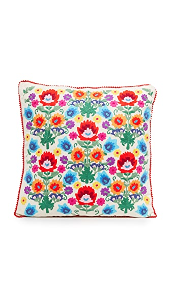 Gift Boutique Floral Pillow In Multi