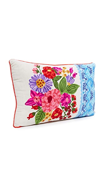 Gift Boutique Rectangle Floral Pillow - Multi