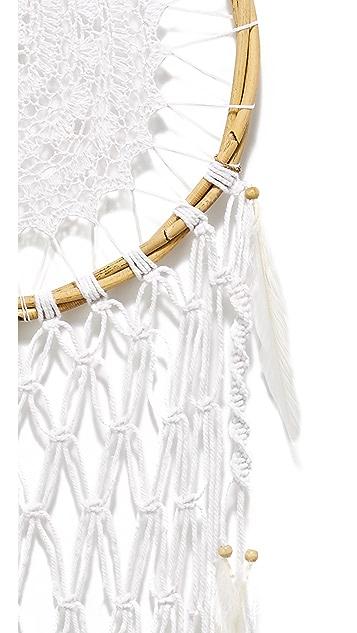 Gift Boutique Large Teardrop Net Dreamcatcher