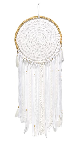 Gift Boutique Large Dreamcatcher - White