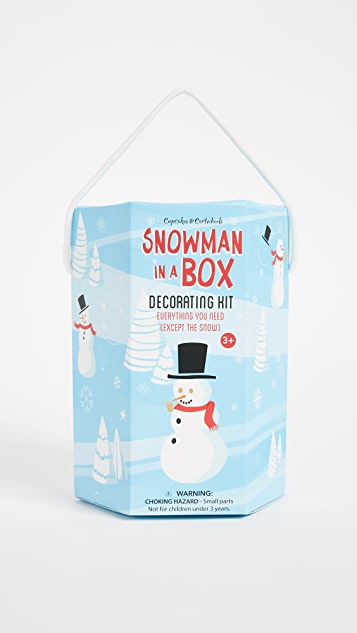 Gift Boutique Snowman Making Set
