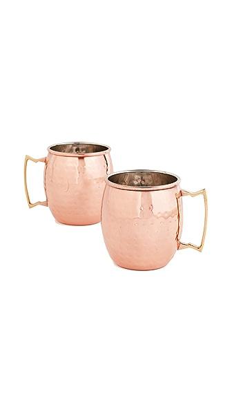 Gift Boutique Moscow Mule Mug Set