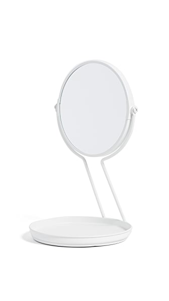 Gift Boutique See Me Mirror & Tray In White