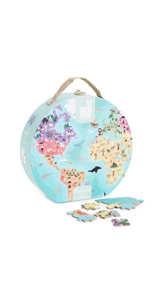 Gift Boutique Child's Our Blue Planet Double Sided Puzzle In Multi