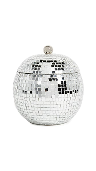 Gift Boutique Disco Ball Ice Bucket In Silver
