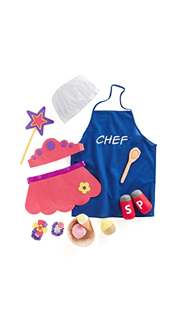 Gift Boutique Child's Princess & Chef Props in a Box