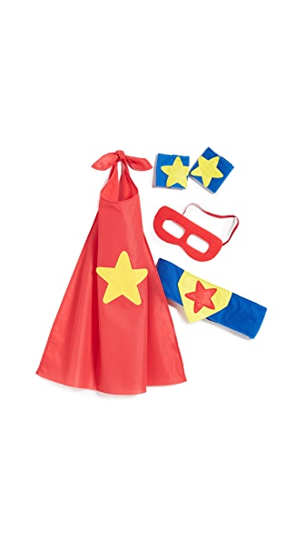 Gift Boutique Child's Superhero Props in a Bag In Multi