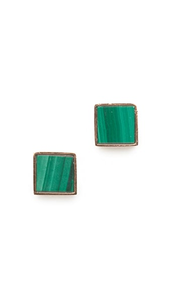 ginette_ny Ever Square Stud Earrings