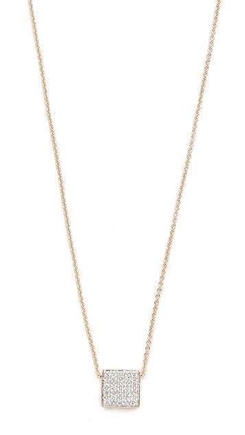 ginette_ny 18k Gold Baby Diamond Ever Necklace