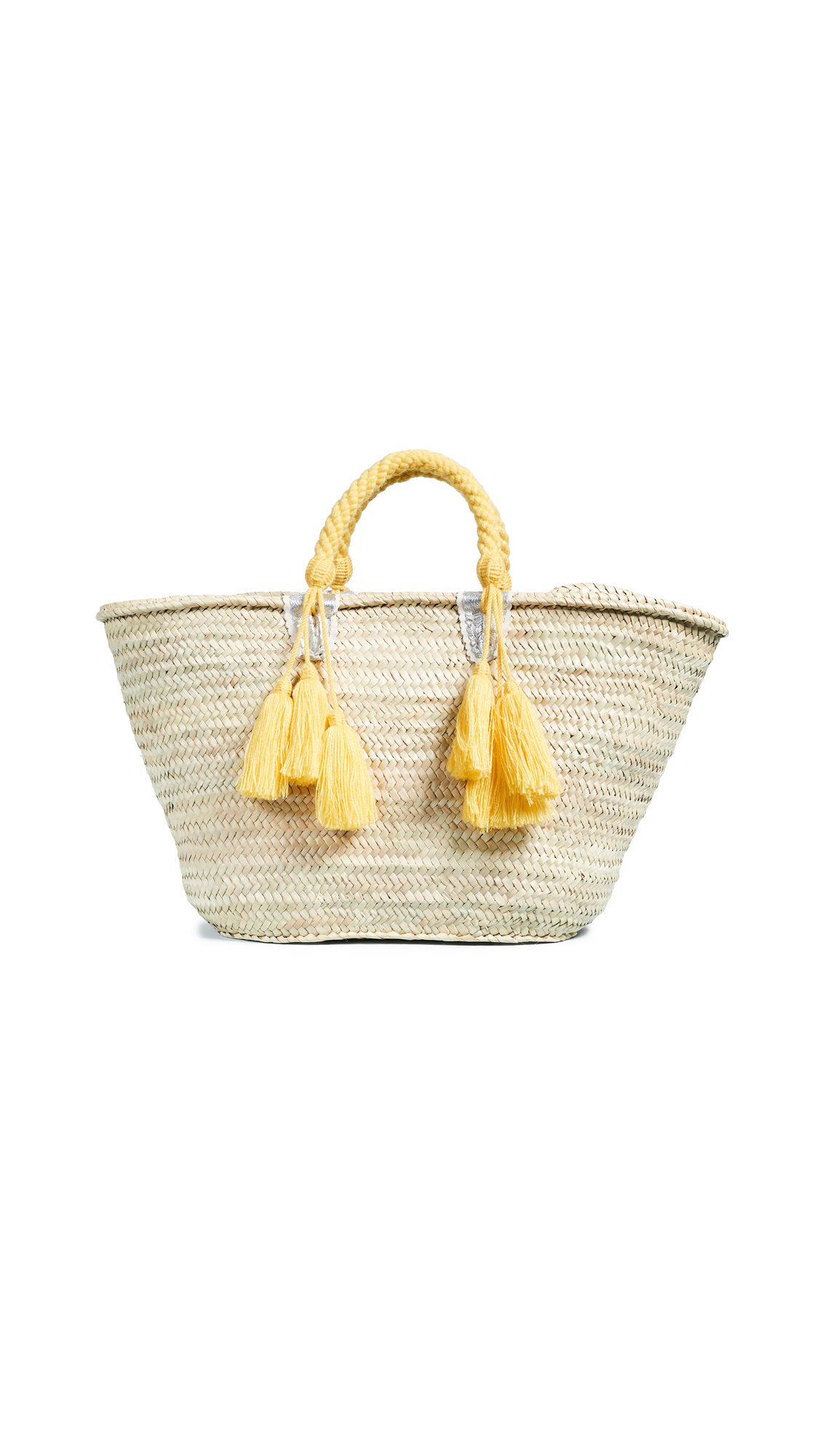 Giselle Agathe Straw Tote