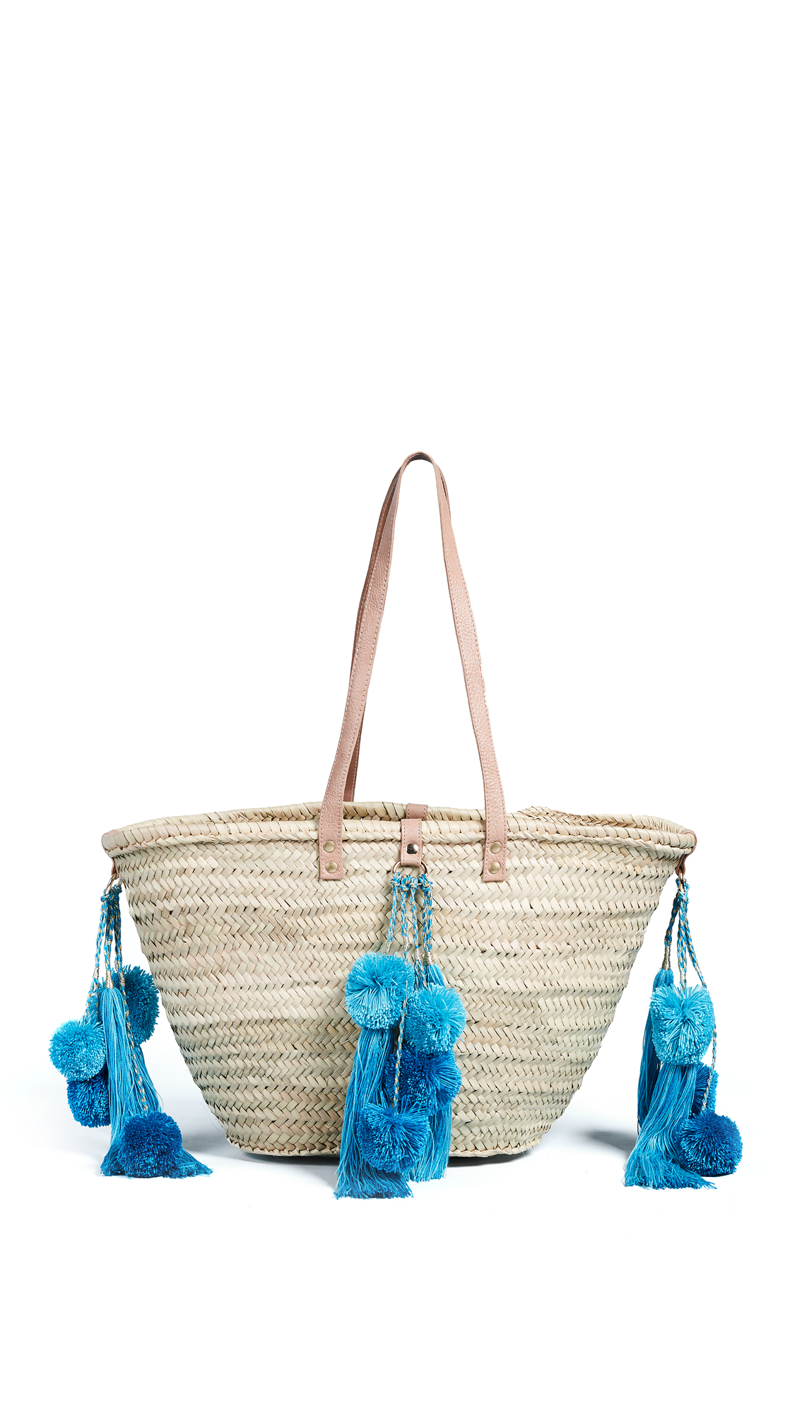 GISELLE | Giselle Celeste Straw Tote | Goxip