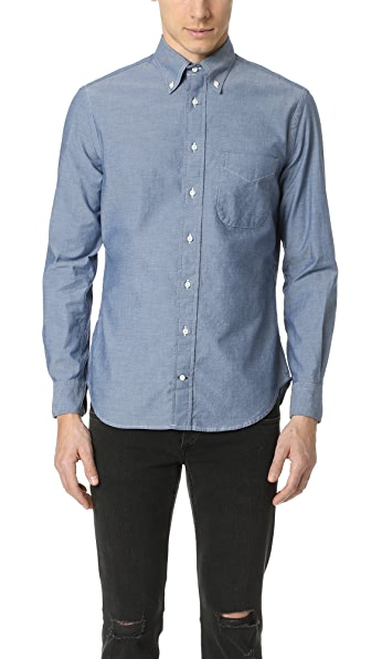 Gitman Vintage Chambray Oxford Shirt