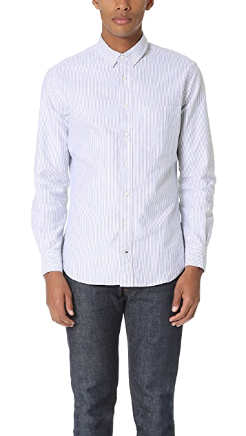 Gitman Vintage Striped Oxford Shirt