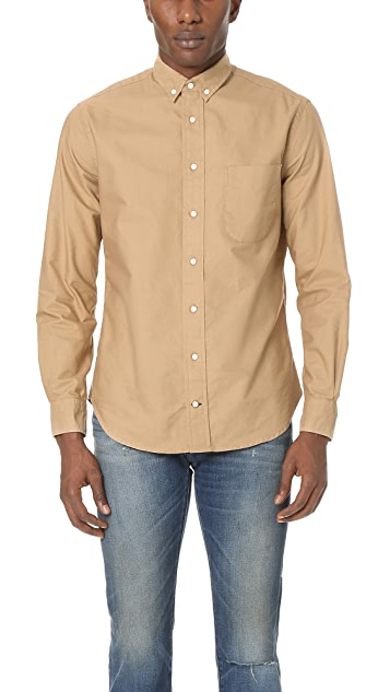 Gitman Vintage Overdye Oxford Shirt