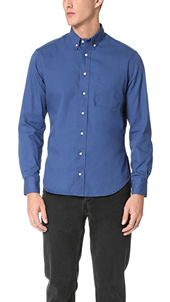 Gitman Vintage Button Down Overdye Oxford Shirt