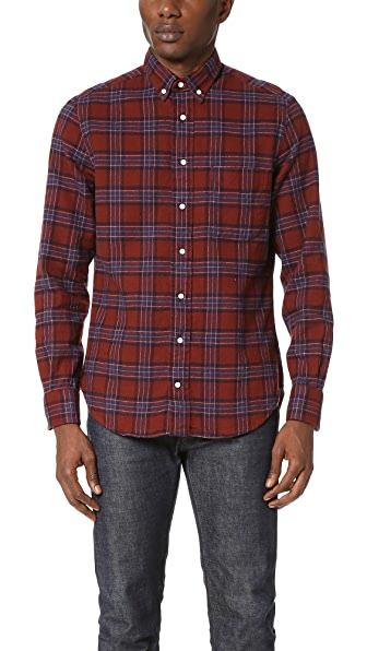 Gitman Vintage Brushed Flannel Shirt