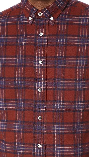 Gitman Vintage Brushed Flannel Shirt