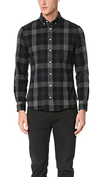 Gitman Vintage Button Down Brushed Japanese Flannel Shirt