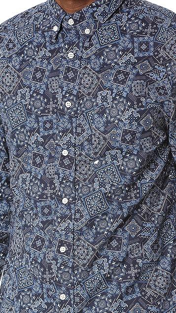 Gitman Vintage Bandana Print Shirt
