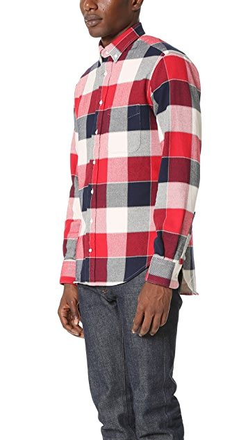 Gitman Vintage Button Down Double Face Twill Shirt