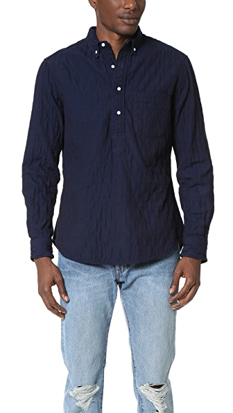 Gitman Vintage Quilted Popover Shirt