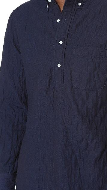 Gitman Vintage Quilted Popover Shirt