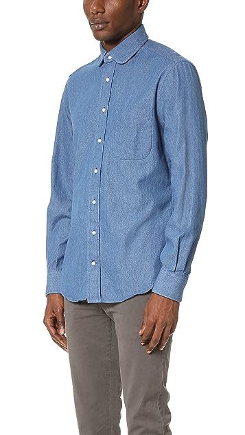 Gitman Vintage Pub Collar Denim Shirt