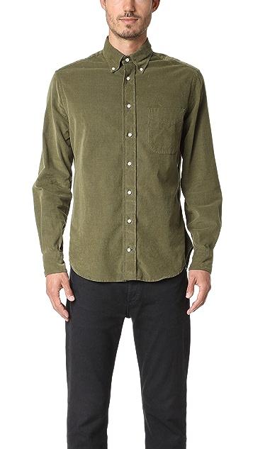 Gitman Vintage Long Sleeve Corduroy Shirt