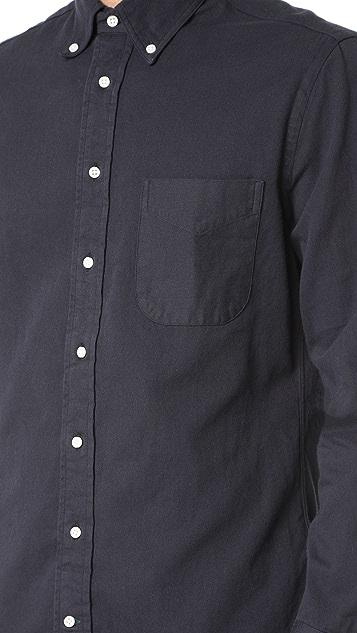Gitman Vintage Long Sleeve Selvedge Twill Shirt
