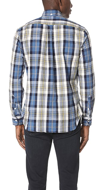 Gitman Vintage Long Sleeve Plaid Flannel Shirt