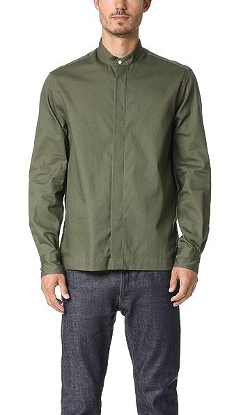 Gitman Vintage Long Sleeve Selvedge Twill Shirt Jacket