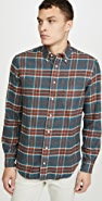 Gitman Vintage Soft Flannel Button Down Shirt