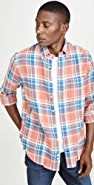 Gitman Vintage California Brushed Triple Yarn Flannel Shirt