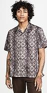 Gitman Vintage Snakeskin Camp Collar Shirt