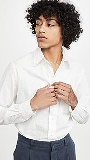 Gitman Vintage Seersucker Long Sleeve Shirt