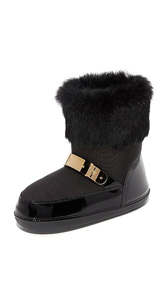Giuseppe Zanotti Moon Boots In Black