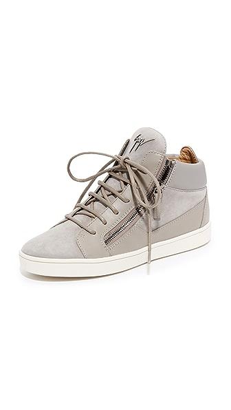 Giuseppe Zanotti Suede Sneakers - Sloane