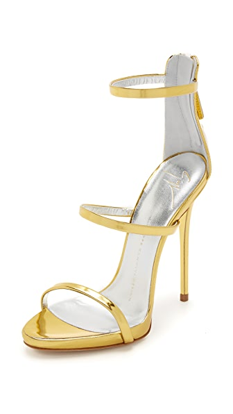 Giuseppe Zanotti Strappy Sandals - Gold