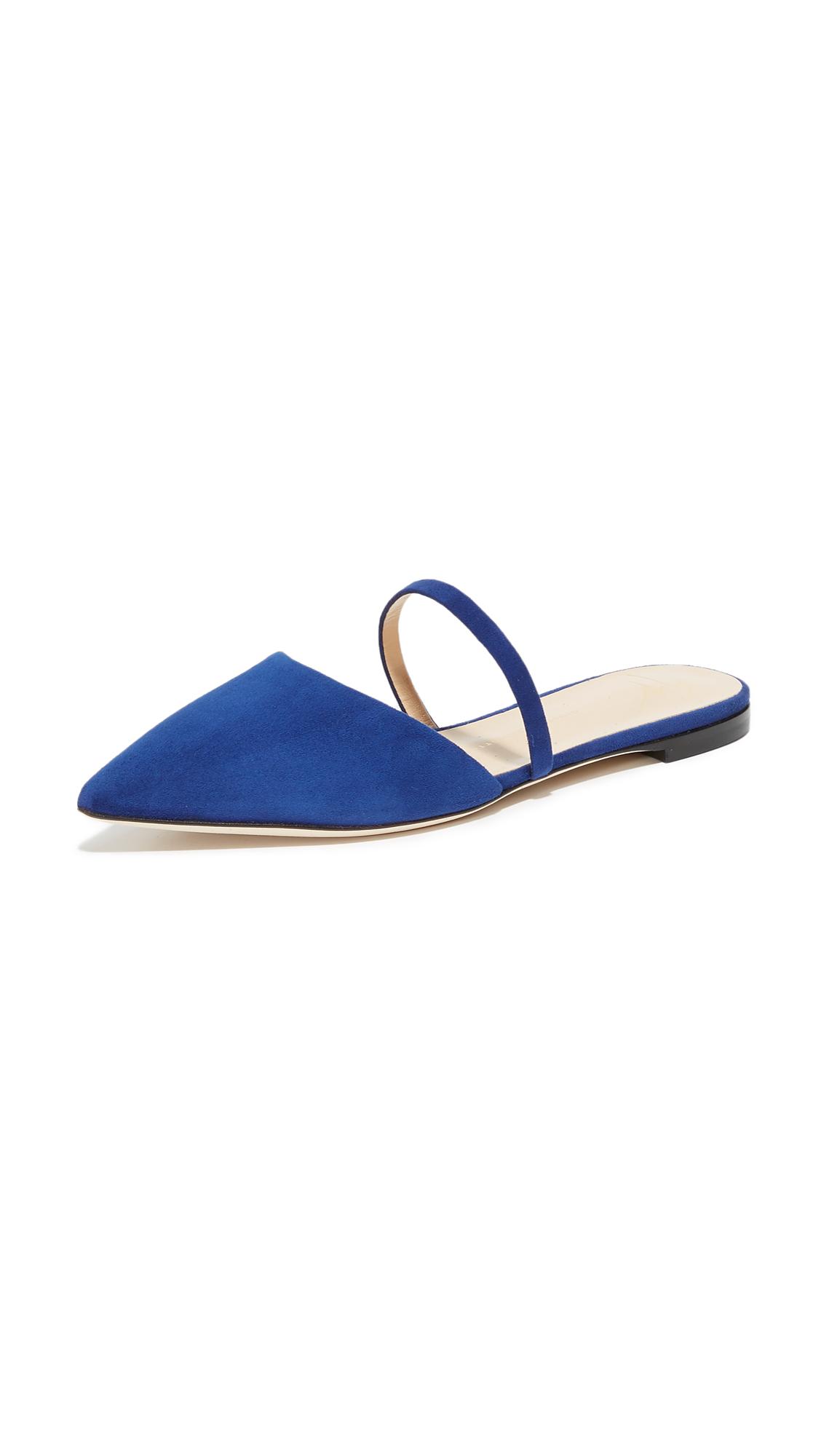 Giuseppe Zanotti Flat Slides - Blue