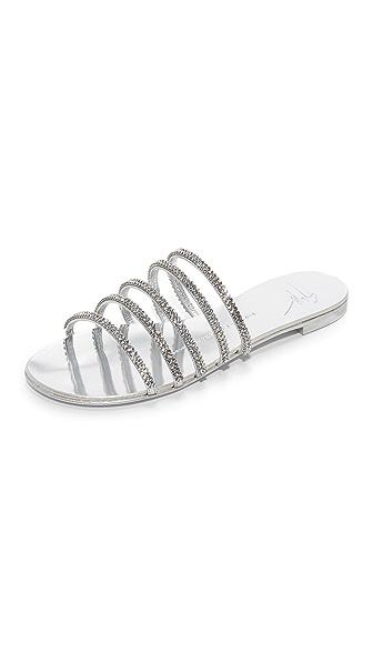 Giuseppe Zanotti Strappy Flat Sandals