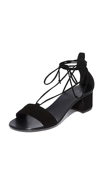 Giuseppe Zanotti Block Heel Sandals - Nero