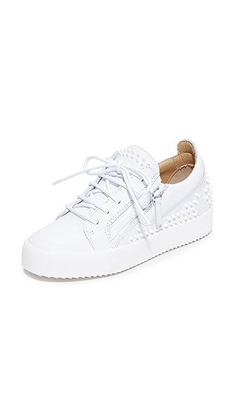 Giuseppe Zanotti Maylondonsc Sneakers In White