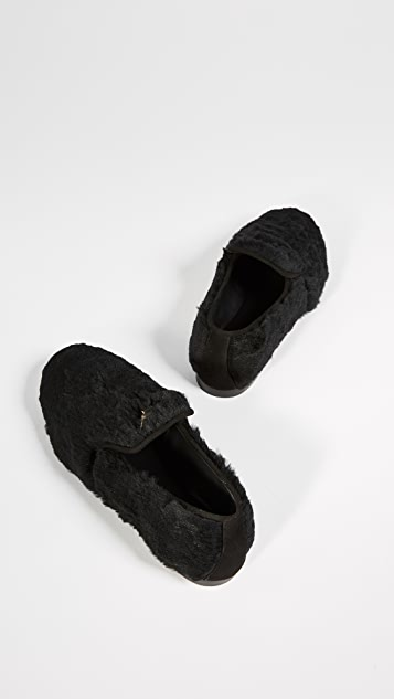 Giuseppe Zanotti Dalila Fur Loafers